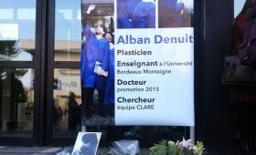 Décès d'Alban Denuit