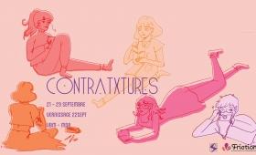 Contratxtures – Exposition de rentrée avec l'association Frictions