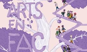 Affiches 2013 pour Arts en Fac