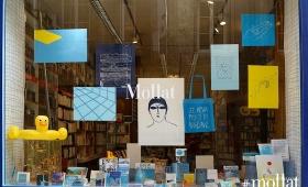Workshop «Je peux pas j'ai piscine» et vitrine de la librairie Mollat