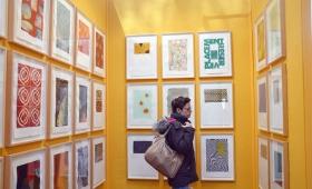 DRAWING NOW #11 : visite du Salon du Dessin contemporain (Paris) avec un groupe d'étudiants
