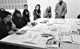 Exposition «Territoire(s) de papier's)» // Pratique plastique L1 // Barbara Bourchenin