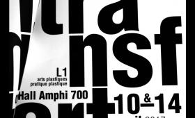 """Photographies de l'exposition des L1 Arts plastiques """"TRANSFERT"""""""